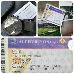 Op 25 april 2004 versloeg Fiorentina Messina met 2-0 in de Serie B