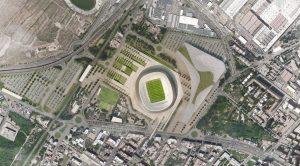 Nieuwbouw stadion Fiorentina