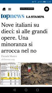 9 van de 10 Italianen wil Grote Publieke Werken