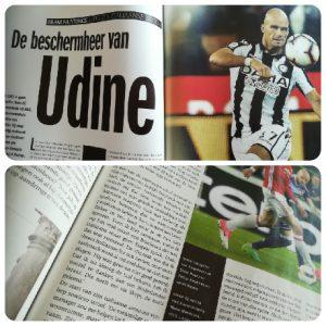 Interview in Voetbal International met Bram Nuytinck: 'Beschermheer van Udine'.