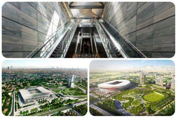 Een inkijkje in de nieuwe metro van Kopenhagen en de twee ontwerpen voor het nieuwe voetbalstadion in Milaan