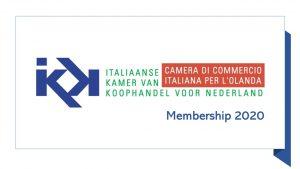 Logo Camera di Commercio Italiana per l'Olanda